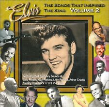 Elvis Presley SONGS THAT INSPIRED THE KING Vol 2 @NEW SEALED 31 track CD@