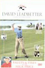 - David Leadbetter's Faults And Fixes (DVD) BRAND NEW [ALL REGIONS] NOW $19.75
