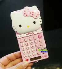 New Cute Hello Kitty Pocket Basic Electronic Digitals Calculator