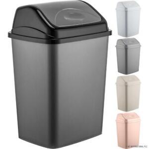 Plastic Swing Bin Plastic 2.5L,5L,10L,20L,30L,50L Kitchen Waste Rubbish Dustbins