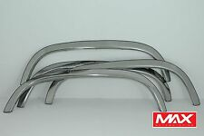 FTCH201 88-98 Chevy CK Pickup GMC Sierra w/ Side Moldings Stainless Fender Trim