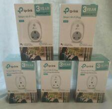 Bundle of 5 TP-Link HS100 SMART WiFi PLUG Socket UK Works with Alexa & Google
