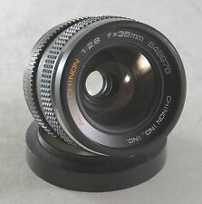 Vintage Auto Chinon Lens 35mm f/2.8 Japan--Oil on Aperture Blades