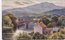 Artist Drawn, The Bridge & Ben Ledi, CALLANDER, Perthshire