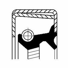 Wellendichtring Automatikgetriebe - Corteco 12014316B
