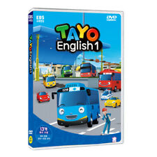 The Little Bus TAYO DVD English Version Series 1 2Disc English Audio (Language)