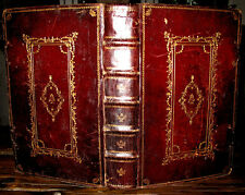 1770 MISSAL Folio ROMAN CATHOLIC Fine Binding OCCULT Exorcism HOLY BIBLE Antique