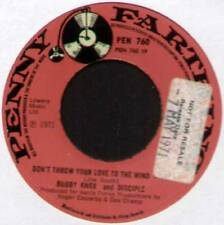 "[JOE SOUTH] BOBBY KNOX ~ DON'T THROW YOUR LOVE TO THE WIND ~ 1971 UK 7"" SINGLE"