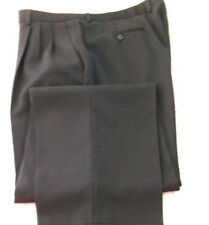 "Beautiful Zanella Model  Alter Solid Black Pleated Dress Pants size 35 ""W /30""L"