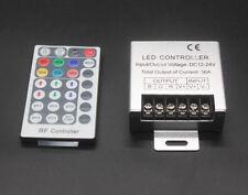 1XDC 12V 36A 288W 24key RF Remote Controller Control RGB 3528 5050 SMD LED Strip