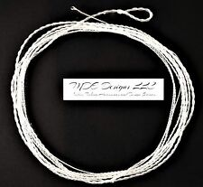 Custom Monofilament Furled Tapered Leader 76 Inch 0-3 WT - Tippet Ring - Clear