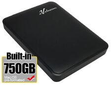 Avolusion 750GB USB 3.0  (MacOS Pre-Formatted) Portable External Hard Drive