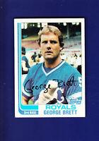 George Brett HOF 1982 TOPPS Baseball #200 (VGEX+) Kansas City Royals