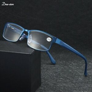 Mens Business Reading Glasses Frames Titanium Alloy Hyperopia Presbyopia 2021