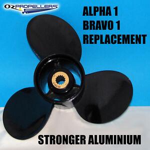 MERCRUISER PROP PROPELLER 3 Blade Alloy Aluminium (Suits Alpha 1 and Bravo 1)