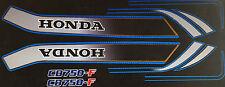 HONDA CB750F CB750FA RC04 RESTORATION DECAL SET BLACK MODEL