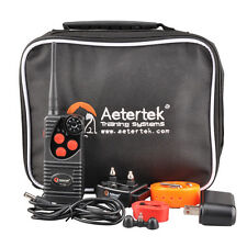 AETERTEK Remote Dog Training Electric Shock Vibration Pet Collar No Bark Trainer