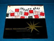 "Sesac : THE SAVOY ORCHESTRA ""Society Beat Vol. 1"" LP vinyl : N-4801/02 @ Jazz"