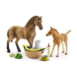 42432 SCHLEICH Horse Club Sarah's Baby animal care  (Horse Club) Plastic Figure