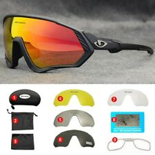 Occhiali da Sole Ciclismo Sport Polarizzati Fotocromatici UV400 Guida Bici Corsa