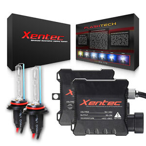 Xentec Xenon Light HID Conversion Kit 9012 H1R 6000K Headlight 35W 40000LM Slim