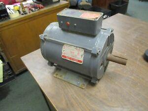 GE AC Motor 5K184AW221Y 5HP 1735RPM Frame: 184T 208-230/460V 14.8-14.6/7.3A Used