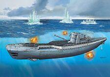 Revell 1:72 05133 C/40 tipo IX (u 190) U-boatgerman submarino y en alemán Crew 02525