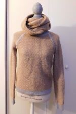 YIGAL AZROUEL New York Sweater with Color Beige Grey Wool Blend US S