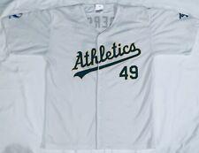 b4f0250e1 MLB Oakland Athletics A s  49 Brett Anderson Baseball Jersey Adult XL
