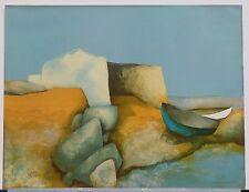 """Claude Gaveau """"Maison de Pecheur"""" Fisherman's Cottage, Seaside Lithograph"""