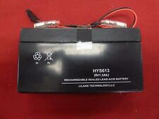 New 6V 1.3 Ah Lead Acid Elcotel Battery for Payphones Payphone Series 5 5501 S5