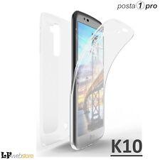 Cover Custodia fronte Retro 360° trasparente per LG K10 Corriere Espresso