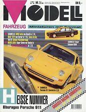Zeitschrift Modell Fahrzeug 3 94 1994  BMW 7er Isetta Caterham VW Karmann Ghia