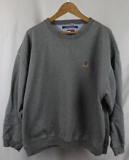 Vintage Tommy Hilfiger Gray Crest Logo Sweatshirt Crewneck Sz XXL