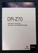 Owners manual Suzuki DR-Z70 2012-L2