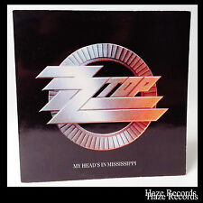 ZZ TOP My Heads In Mississippi EP with Gatefold UK Pressing
