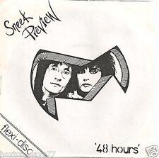 "SNEEK PREVIEW 48 Hours 7"" flexi UK 1985 PRIVATE PRESS Punk KBD Indie LISTEN!!!"