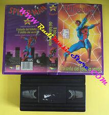 VHS film SPIDER-MAN Il trionfo del folletto verde STARDUST animazione(F79)no dvd