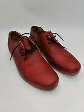 John Fluevog Mens Red Radio CBX Shoes Size 12