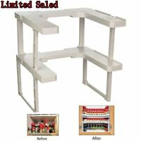 NEW  Shelf Patented Spice Rack and Stackable Organizer Home Kitchen Use BP