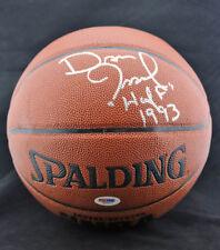Dan Issel SIGNED I/O Basketball Denver Nuggets + HOF 1993 PSA/DNA AUTOGRAPHED