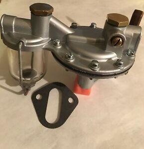1937 TO 1947 HUDSON 6 8 CYLINDER REBUILT FUEL PUMP FOR MODERN FUELS AC 499 USA