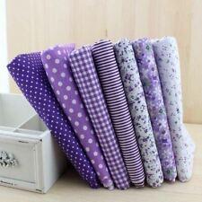 7pieces 50cmx50cm purple series cotton fabric fat quarter bundle patchwork cotto