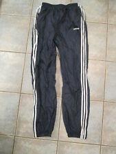 Vintage Adidas Windbreaker Track Pants Blue 3 Stripes mens Large