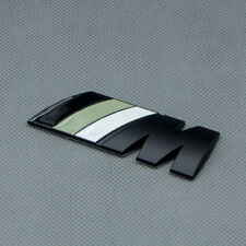 Matte Black M Sport Emblem Badge Metal Rear Tailgate Trunk Logo For M3 M4 M5 M6