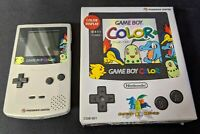 Nintendo Gameboy Color Pokemon Center Limited Edition console Boxed Tested