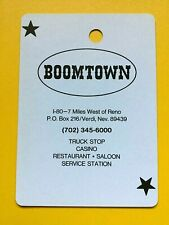 Boomtown Casino Verdi Nevada Joker Single Swap Playing Card