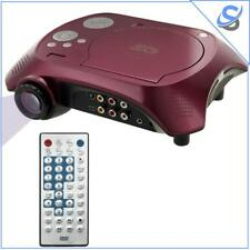 Portable Video Projector DVD Player TV USB TF 40ANSI 15W 20-60 inch Projection