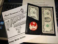 Vintage Himber Leather Wallet Original Johnson Products Ron Bauer Richard Himber