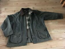 SUPERB VINTAGE BARBOUR BEDALE WAXED COTTON JACKET C46 117cm XL COUNTRY GREEN VGC